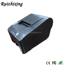 Fast print receipt pos 58 printer thermal driver with RS232/USB Interface