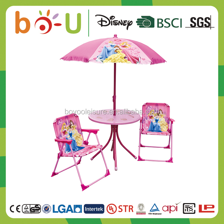 ZJBOU BSCI certificate used outdoor patio furniture for children