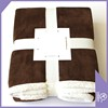 China wholesale high quality plush sherpa throw blanket superior blanket