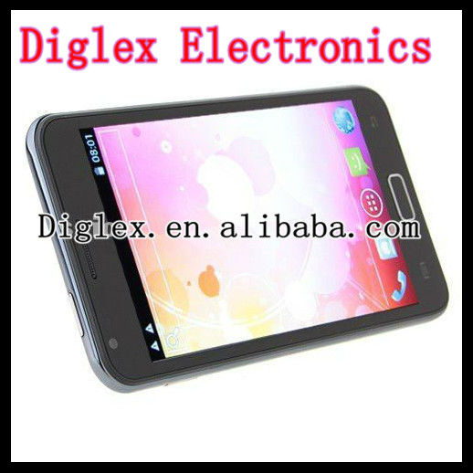 5.0 inch touch screen MTK6575 1.0Ghz cpu android phone N8000