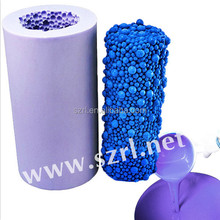 RTV2 silicone rubber for decorative candle mold making