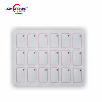 Factory price Ultralight EV1 smart chip rfid inlay sheet