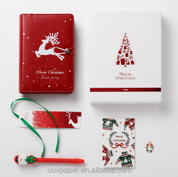 2017 Fashion Red Christmas Planner