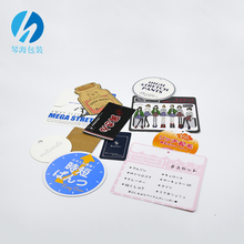 Alibaba China Supplier Fancy Jewelry Hang Tag Printing