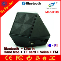New electronic gadgets diamond appearance bluetooth speaker light new products 2016 innovative