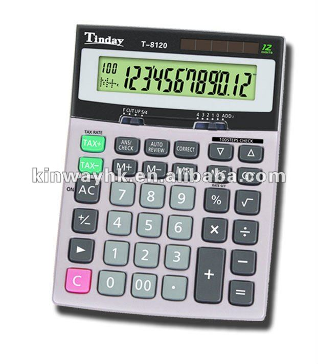 popular office electronic 12 digits big desktop100 check correct tax calculator