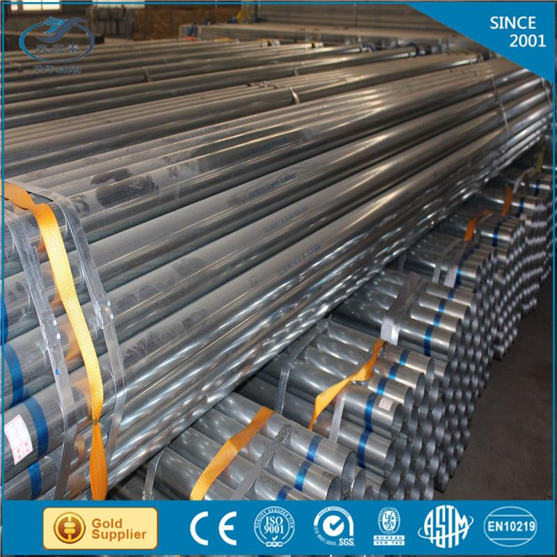 low price big diameter galvanized steel tube with great price
