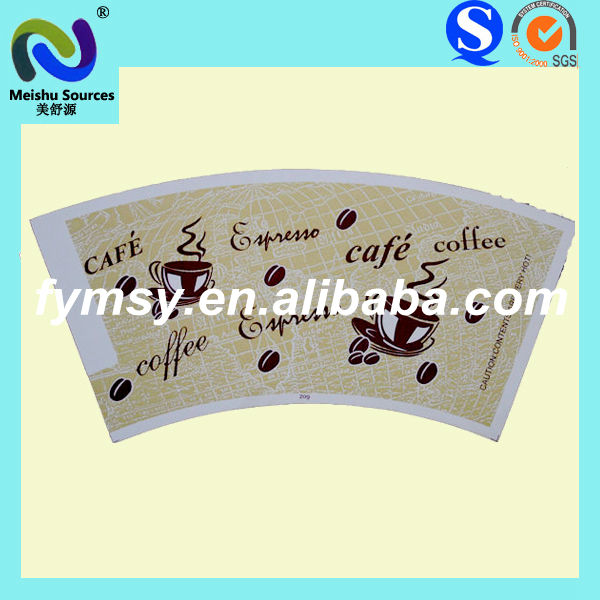 Factory Single Side PE Coated Paper Cup Sheet
