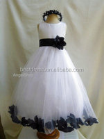 NEW Lace Tulle TUTU Flower Girl Dress Wedding Easter Junior Bridesmaid Dress