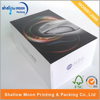 Custom printed corrugated cardboard carton iphone packaging box.