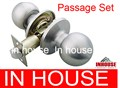 Passage door knob lock (6072)