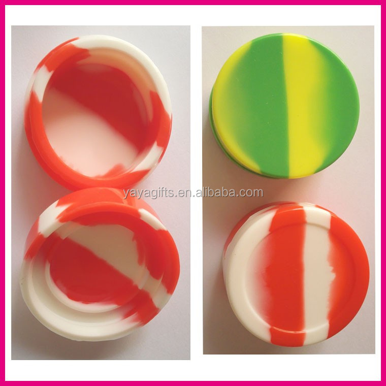 2015 best selling silicone weed jar wax/oil containers