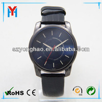 Custom logo blank dial latest vogue watch for man