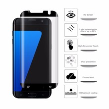 For Samsung Galaxy S7 Edge Screen Protector 3D Tempered Glass Film Case Friendly