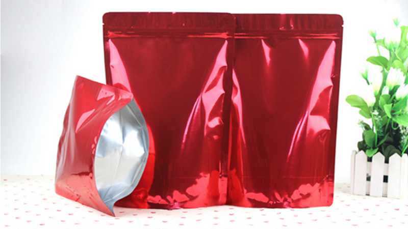 Silver Back Stand Up Barrier Pouches For Food /High Quality stand up barrier pouches