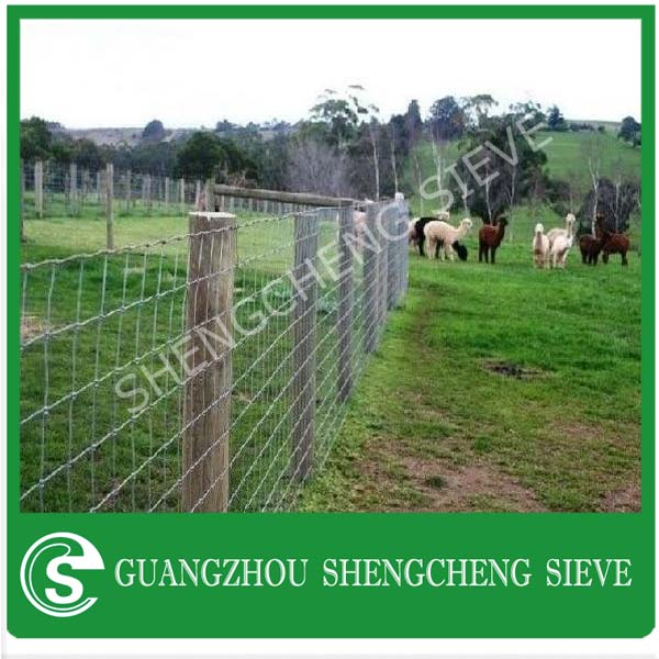 Wholesale price cattle fence panels wire field fence goat fencing supplies