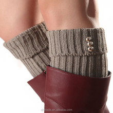 Women's Leg Warmer Knit Leg Warmer Crochet Leg Warmer Pattern with Buttons
