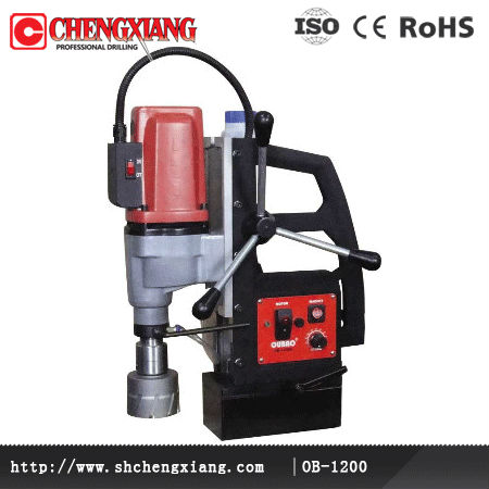 OB-1200 for 120mm diameter Electric Magnetic Hollow Drill