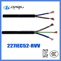 227IEC 52(RVV)connector cables/power cable/welding cable