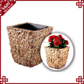 Round Garden & Home planting cup mini metal flower pot