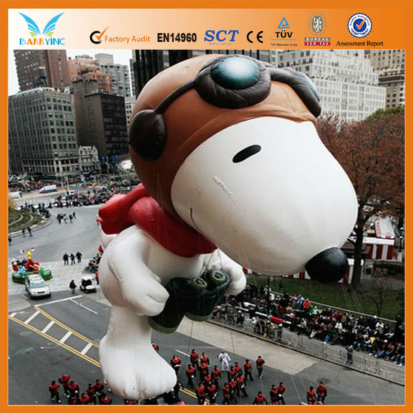 2014 Customized shapes advertising inflatable cartoon