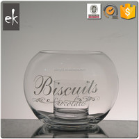 Low price round sphere crystal clear customed color crystal ball candle holder