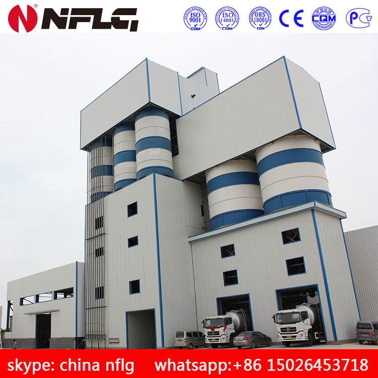 2016 latest technology Chinese product full automatic building construction dry mortar machinery