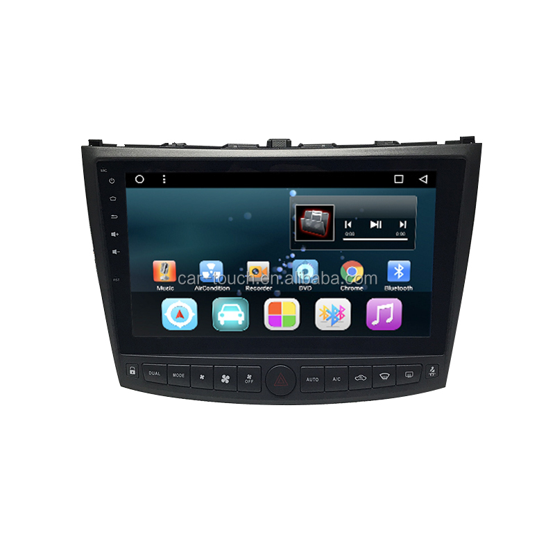 "10.2"" touch screen car radio for Lexus IS250 with Android car dvd player gps navigation"