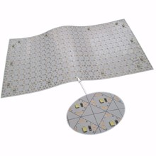 Flexible, Moldable LED Panel 1mm thin Flexible LED emitting sheet