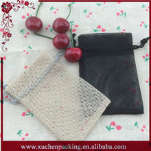 Wholesale nylon drawstring laundry mesh net bag