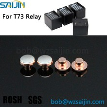 T73 PCB relay AgCdO bimetal point electrical contact rivet