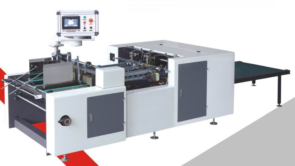 Automatic Conjoined Carton Stacking Hot Melt Glue Gluing Machine YL-5Z-900/1050 with CE & ISO