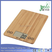 Bamboo Escali Arti Digital bamboo Kitchen Scale with Tare Feature
