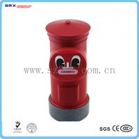 Custom shape money box, post coin bank, large plastic coin banks ShenZhen factory