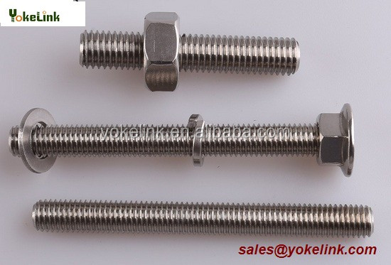 High Quality Stainless Steel <strong>Hex</strong> bolts For solar mounting