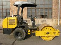 3 Ton Single Drum Vibratory Steel Wheel Road Roller With Low Price