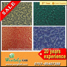 Special texture finish metallic metal powder paint