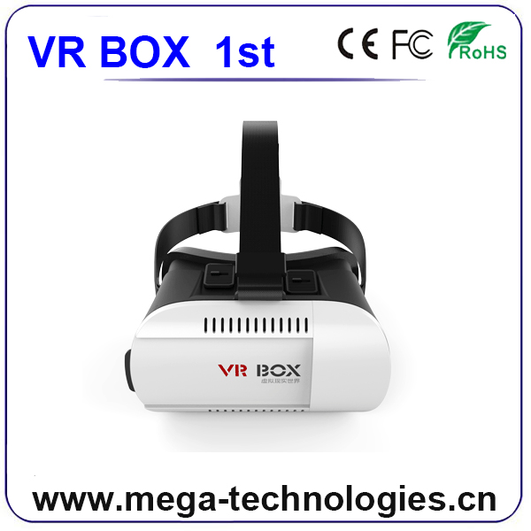 2016 Android Bluetooth Wifi Available 3D Vr Box Glasses For Free Vedio Virtual Reality 3D Video