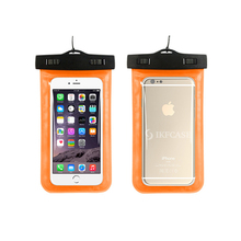 2017 Alibaba Stock Customized Mobile Waterproof Phone Bag Case/ PVC Bag Waterproof Cover For Samsung Galaxy J7