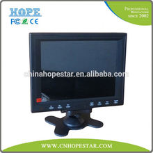 Headrest mobile monitor 7 inch touch screen monitor