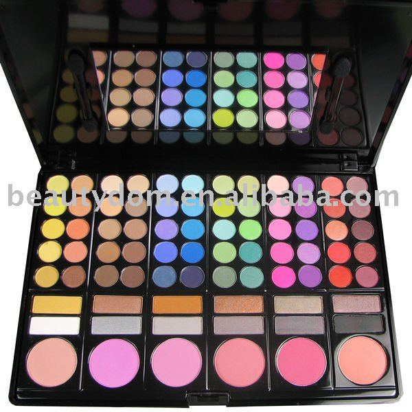 Hot COSMETIC AND MAKEUP! 78 Eyeshadow & Blush Palette, 78 Professional Makeup Palette