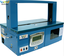Automatic paper opp tape machine BD 470 for banknote money books catalogues strapping machine