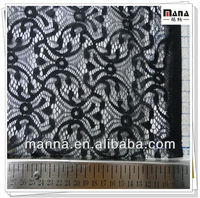 Nylon spandex lace fabric for evening dresses