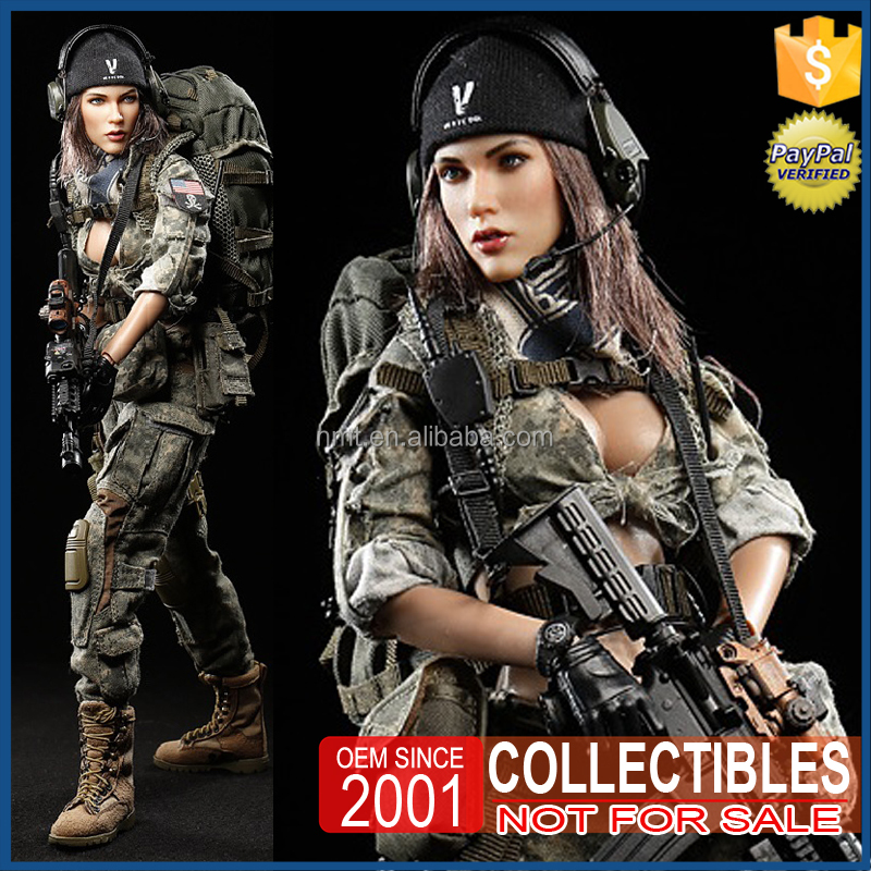 3D Custom figure 12 inch soldier figure toy Military Action Figure