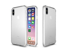 China mobile accessories cell phone mobile TPU bumper transparent clear cases covers for iphone 8 case