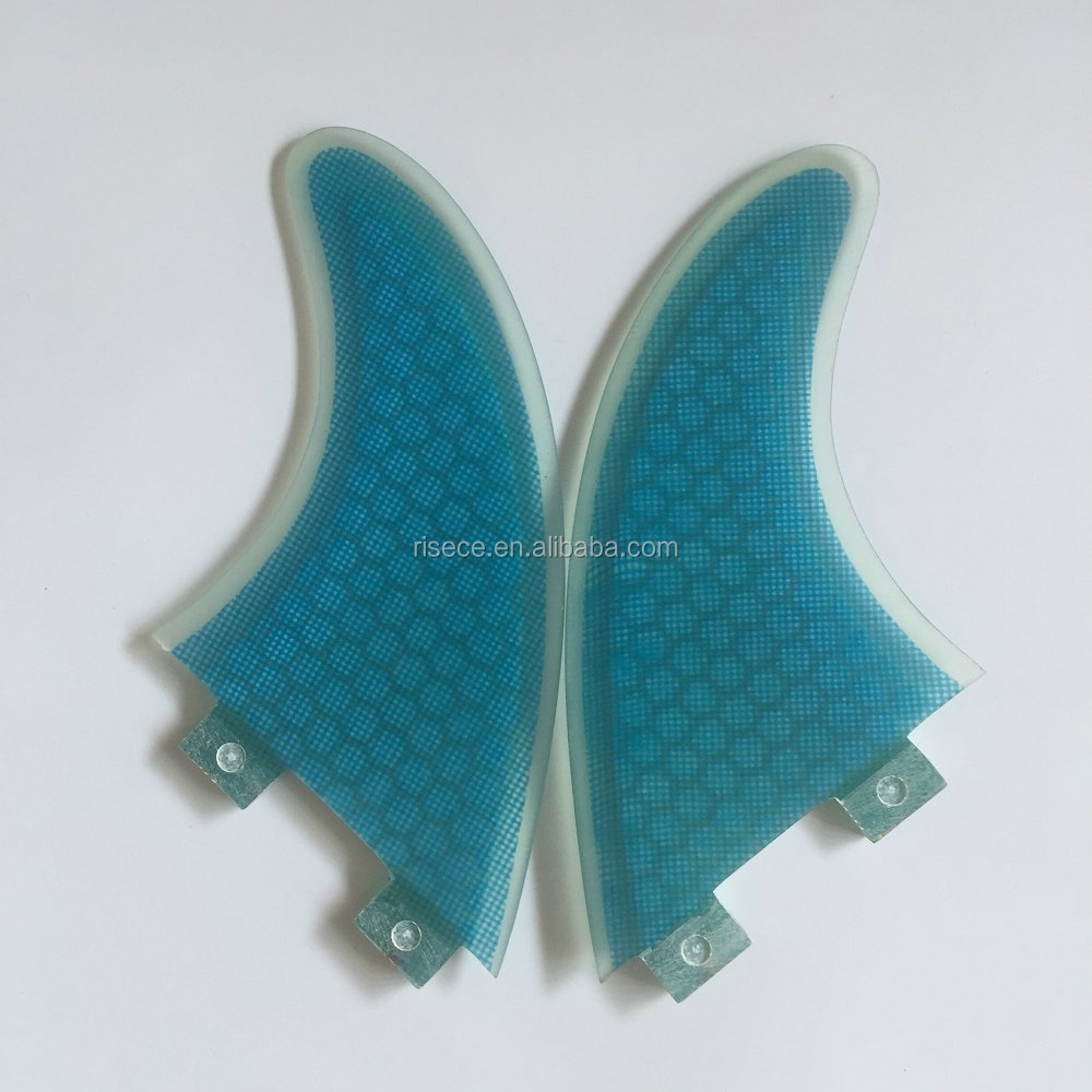 Twin surfboard fins FCS base honeycomb surfboard fins G3/G5/G7