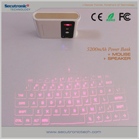 Wireless Virtual Laser Mini Bluetooth Keyboard For Android