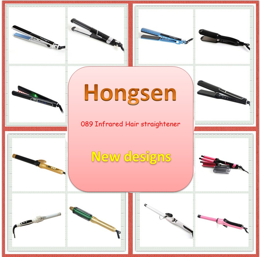 Trend 2017 Top styler hair salon equipment for sale 450 degrees ceramic electric hair brush straightener