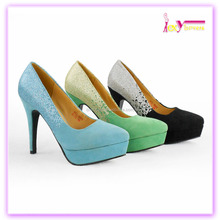 Material superior de la pu ladies dress shoes women high heels plataforma zapatos ladies moda calzado <span class=keywords><strong>alibaba</strong></span>