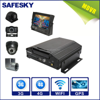 8CH D1 HDD rugged mobile DVR with 3G/4G GPS WIFI